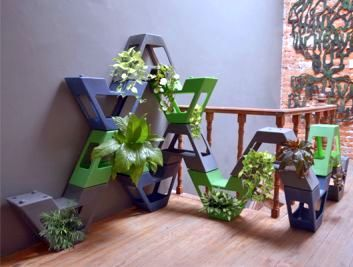 Dubbed as the Vava Modular Planter that can be installed with an automatic irrigation system.