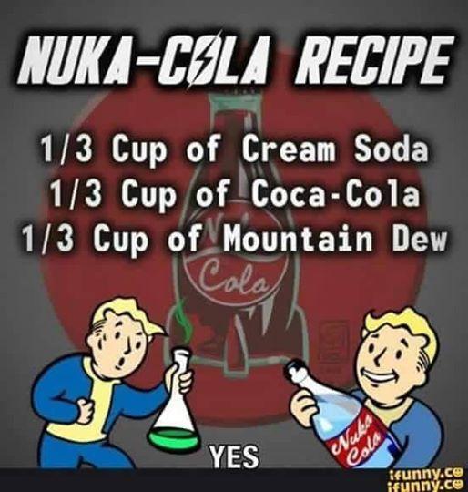 Nuka-Cola Recipe