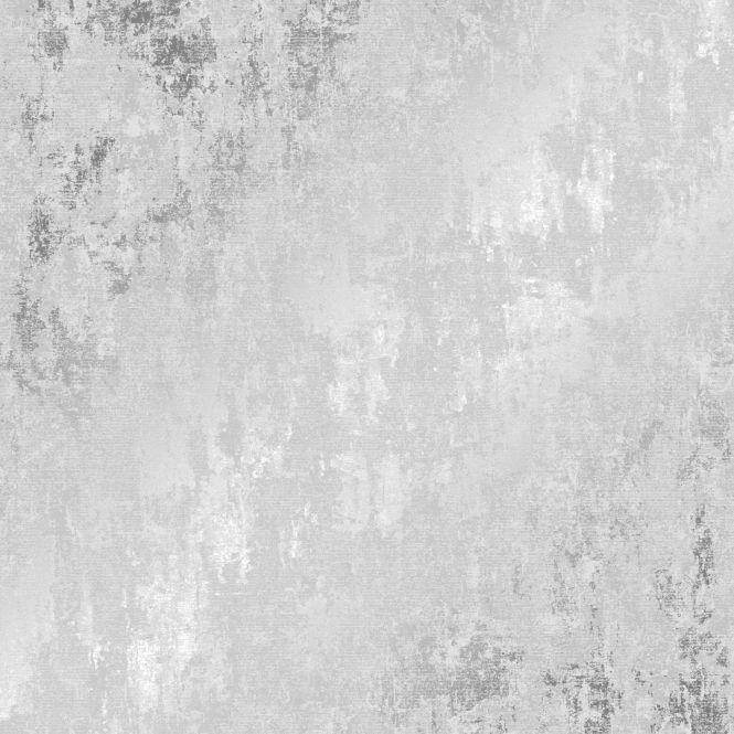 Milan Metallic Wallpaper Grey Silver Silver Wallpaper Living