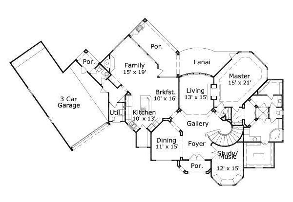 Under 4000 sq ft house plans pinterest for House plans over 4000 square feet