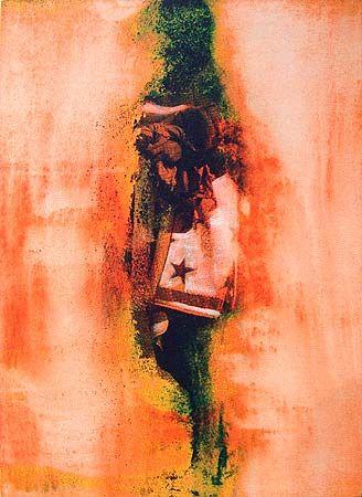 Robert Boynes, 'Solarium' 2012, acrylic on canvas on board, 60.5 x 45.5cm