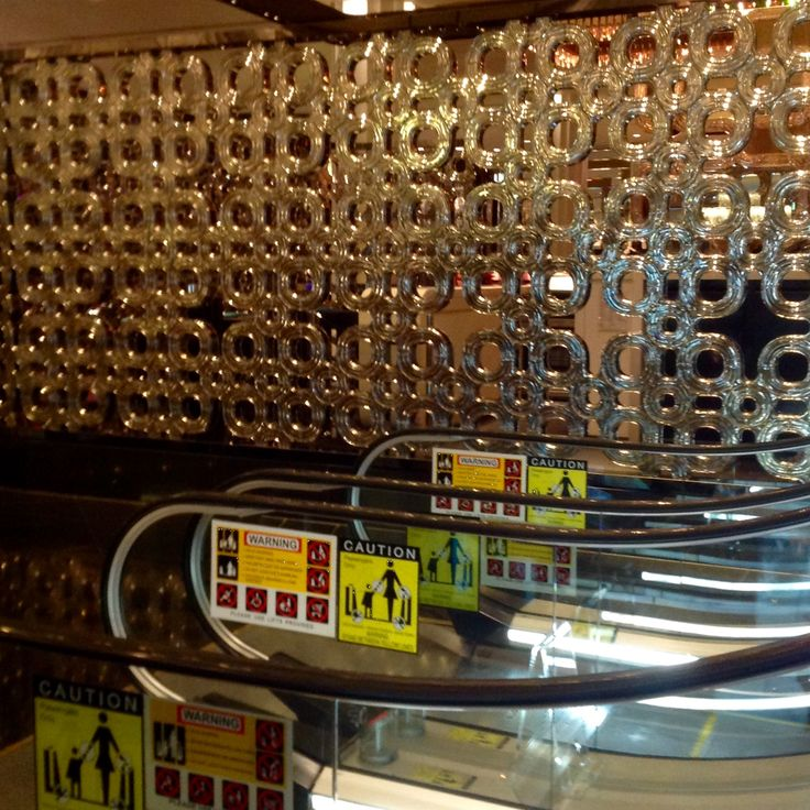 The steel frame with crystal glass wall is not only decorative but can be used structurally.