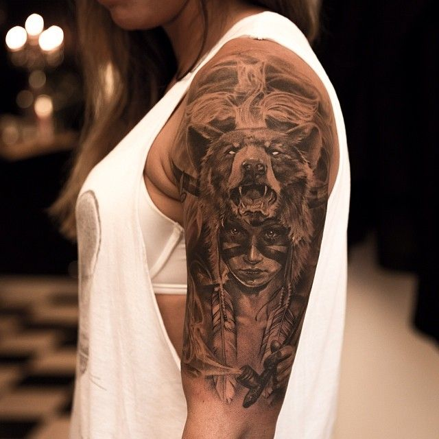 51 Awesome realistic detailed Sleeve Tattoos (13)