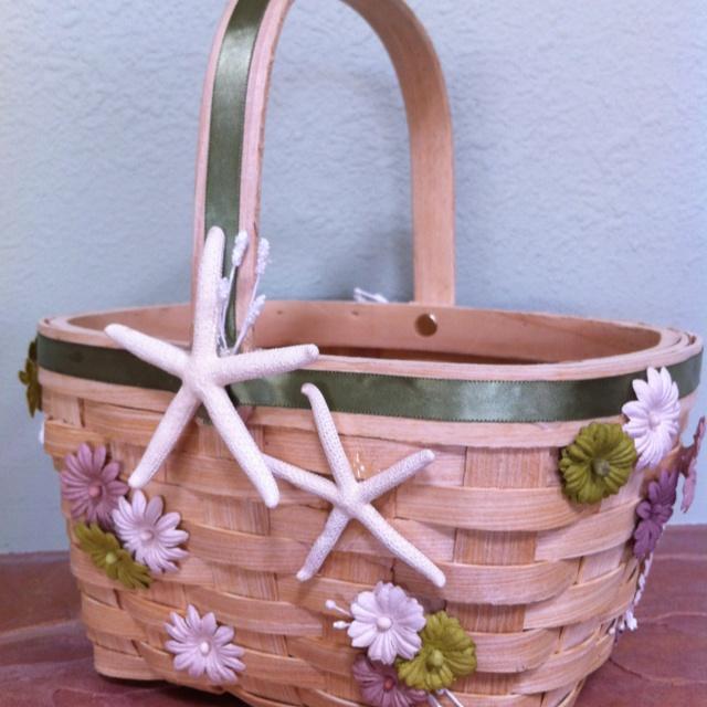 Flower Girl Baskets Diy : Diy flower girl basket michael s wedding ideas