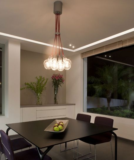 Contemporary Lighting Fixtures Dining Room Alluring Design Inspiration