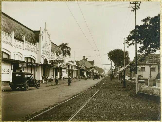 Kawasan Rijswijk di Jakarta, 1925-1930  (C) KITLV