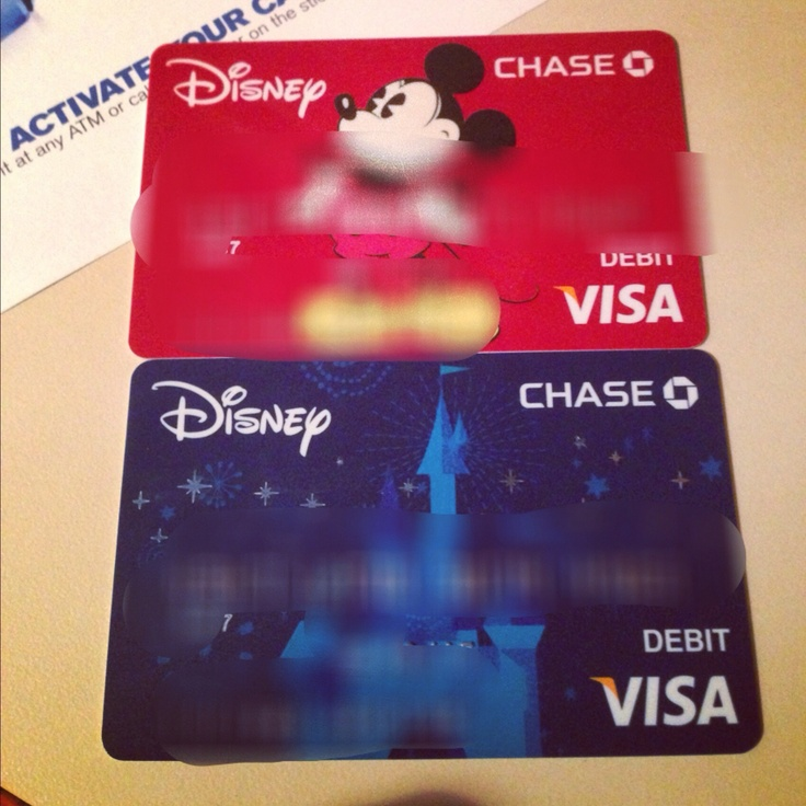 I LOVE my bank! Cutest debit cards ever!
