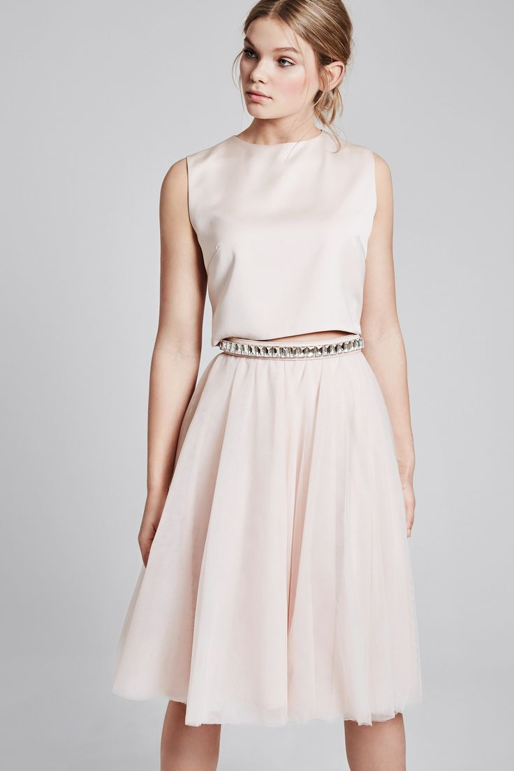 Beautiful tulle skirts in different colours - blush colour