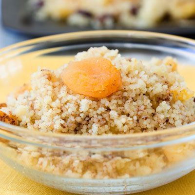 Mediterranean Breakfast Couscous packs 5 grams of fiber, 11 grams of protein, and no added sugar to keep you full all day | health.com