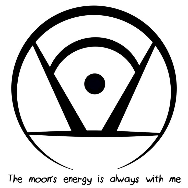 """The moon's energy is always with me"" sigil requested by anonymoussigil requests closed"