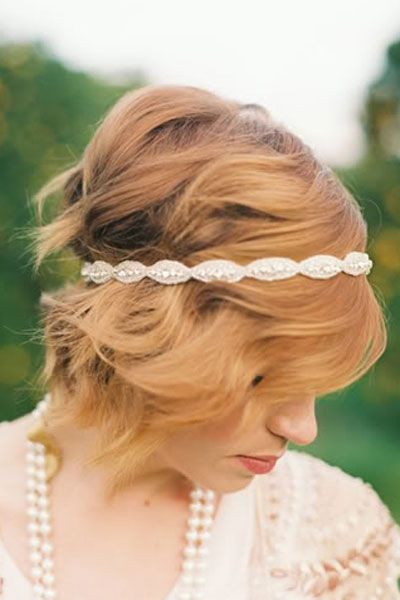 Wedding Hairstyles for Long Hair and Short Hair - Wedding Hairstyle Ideas   Wedding Planning, Ideas Etiquette   Bridal Guide Magazine