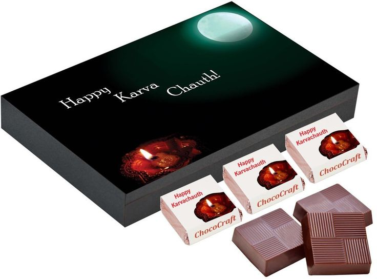 Karvachauth gifts for wife   Chocolate gift box