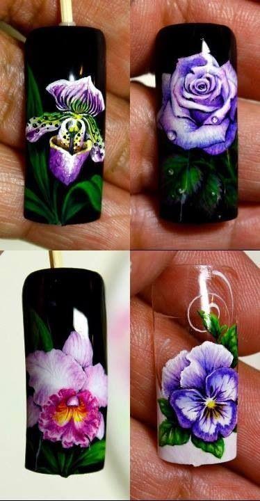 Nail art by pisut