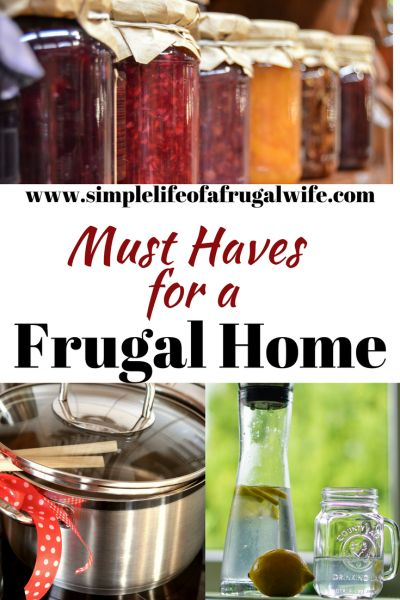 must haves for a frugal home, cheap products, thrifty tools for your home, Save money with these items.