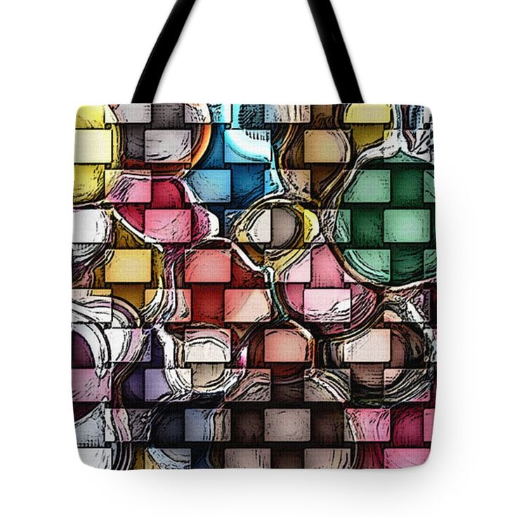 'Breaking Barriers' by Lisa S. Baker #tote #totes #carryon #totebags #totebag