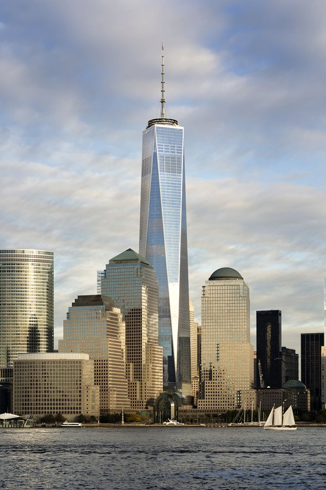 It opened in New York, the first building of the World Trade Center: One World Trade Center
