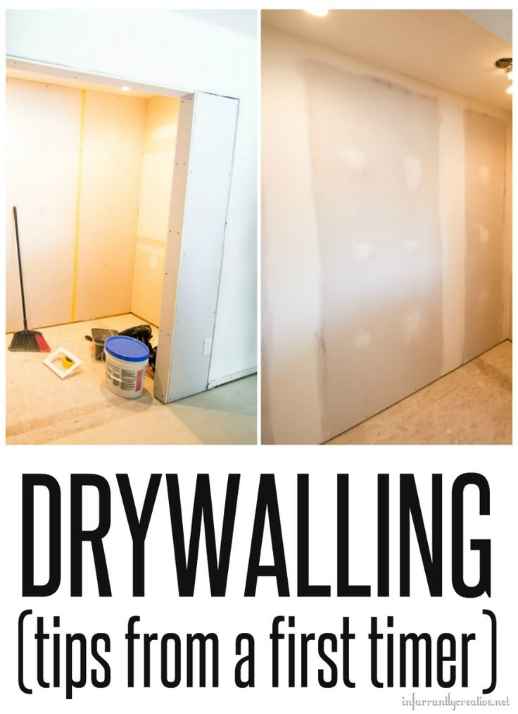 """I don't even know if it is called drywalling. Maybe it is called """"doing drywall"""". See I am a newbie. But I wanted to learn, even if I never use the skill again, how to hang, mud and sand drywall…"""