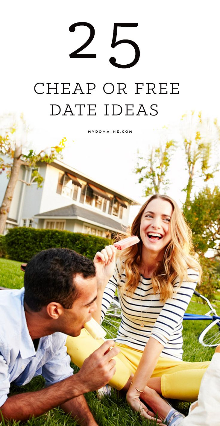 You don't have to spend money to have a great time // cheap date ideas