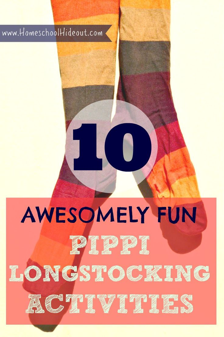 Looking for some fun and hilarious Pippi Longstocking activities? We've got 10 MUST-TRY ideas for when you're reading the book.