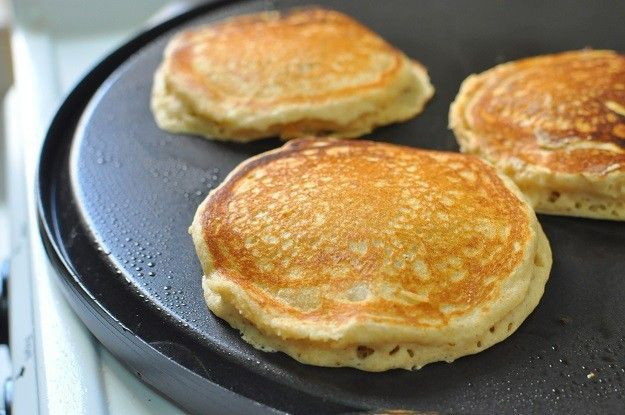 Ready your griddle pan and put it over medium heat | Easy Homemade Pancake Recipe You'll Love | https://homemaderecipes.com/homemade-pancake-recipe/