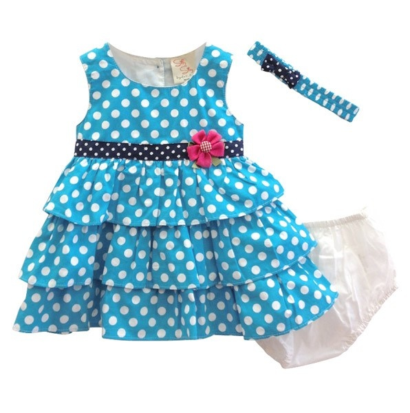 This is one of my favorites on totsy.com: Polka Dot Ruffle Dress