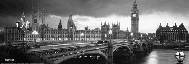 Google Image Result for http://www.clevelandskyline.com ...  London Skyline Black And White