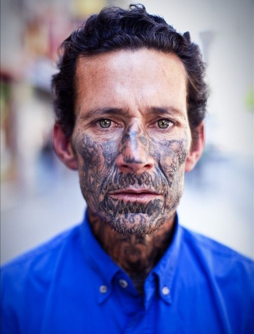 145 best tattoos images on pinterest tattoo ideas for Face tattoos gone wrong