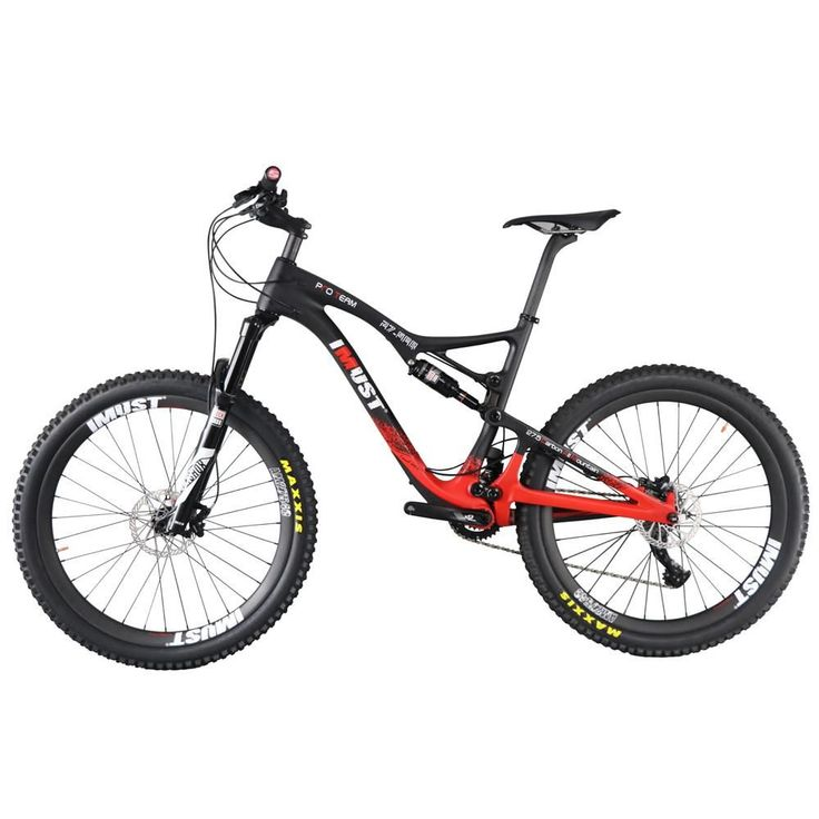 Professional all mountain 27.5er mtb bicycle Xtreme 7 full carbon full suspension mountain