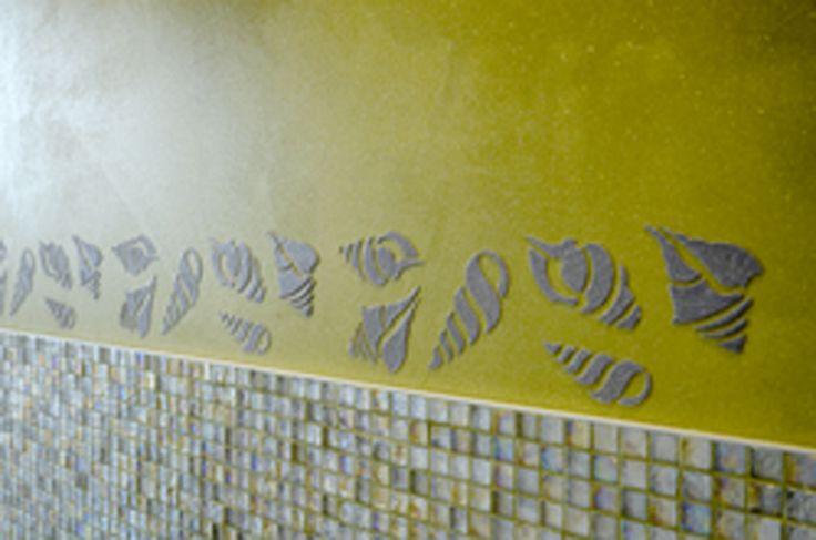 #starlike #decor #stencil #stendecor #shells #mosaics #profile #genesis