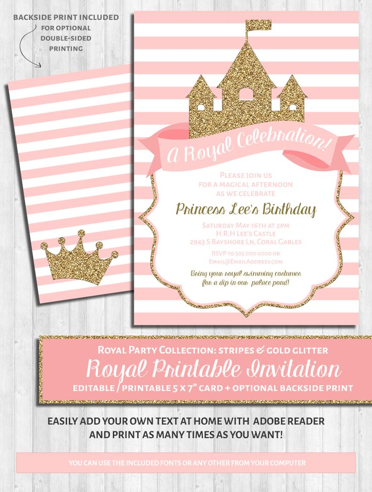 Best 25+ Princess party invitations ideas on Pinterest | Disney ...