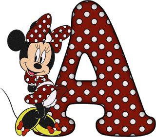 ShoppingAlfabetoDecorativo.: Alfabeto - Minnie 28 - PNG - Letras - Maiúsculas, ...