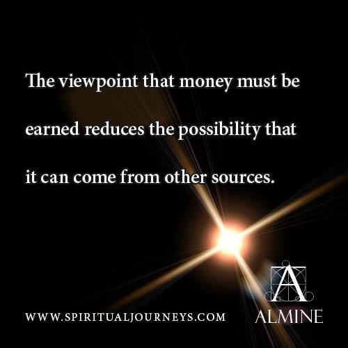 Earning money...