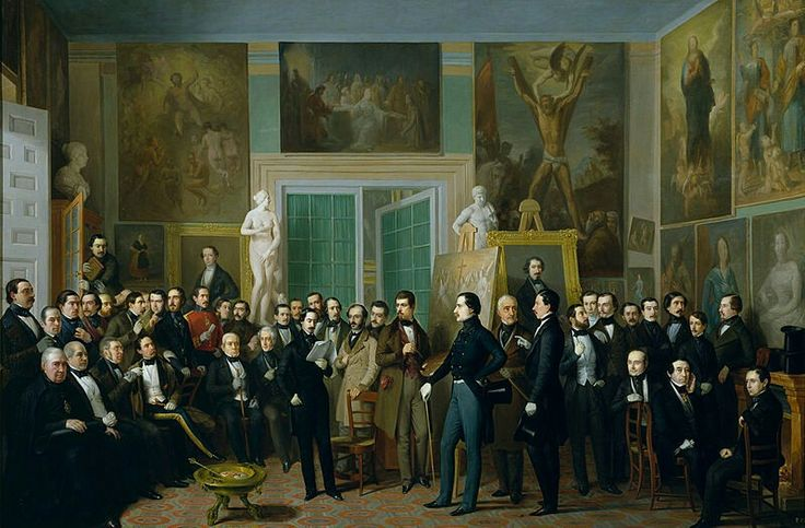 Los Poetas Contemporáneos. Antonio María Esquivel