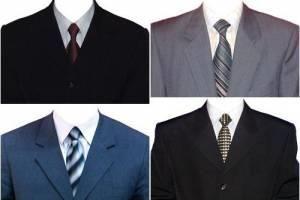 Пиджаки с галстуком для фотошопа