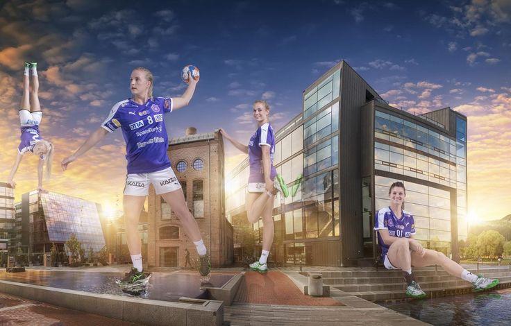 Energi Buskerud reklame og fotografering i fotostudio til sponsor og promotering bilde