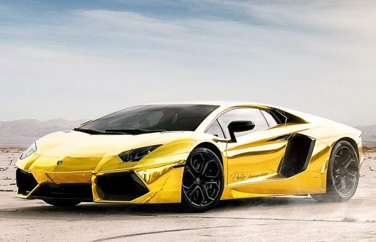55 million dollars pure gold aventador