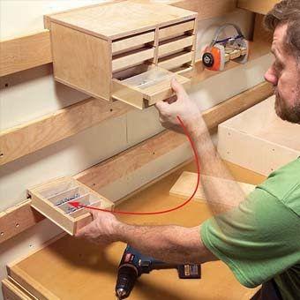 полезные советы для мастера по хранению инструментов в гараже