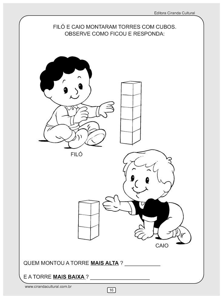 atividade de matematica alto e baixo