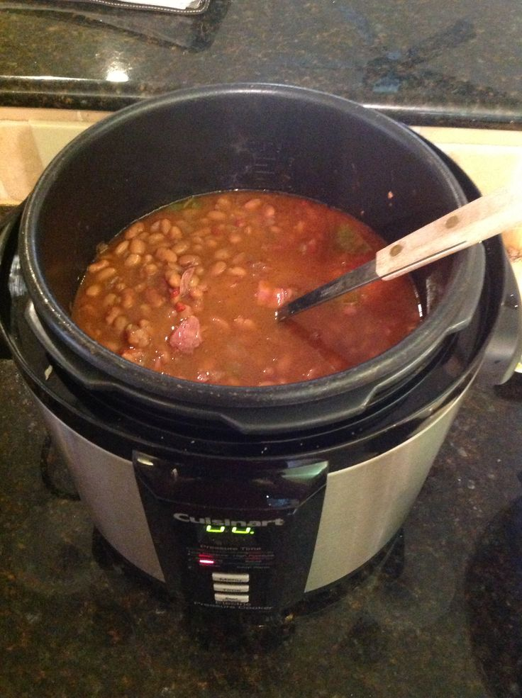 Pinto beans in the pressure cooker. No soaking! | YUMMO ...