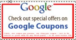 Get money off coupons from Google