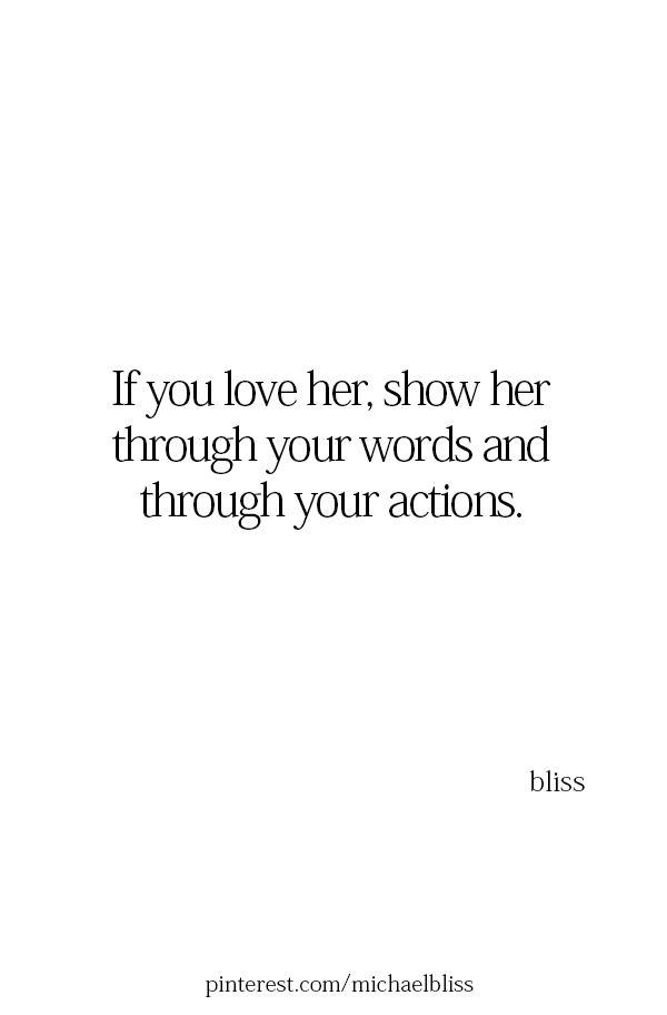 Speak her love language.