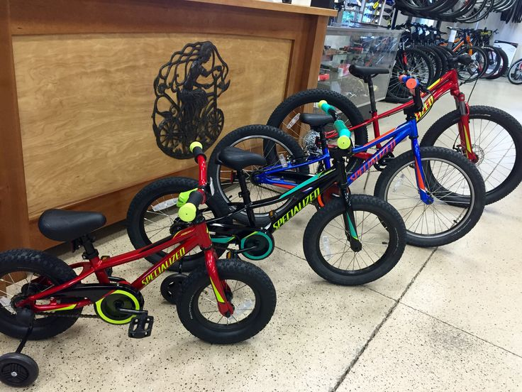 Specialized Riprocks. Plus sized tires for all ages! We got em!