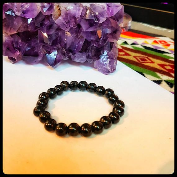 Check out this item in my Etsy shop Women's Black Wood Mala Beads, Bracelet, Comfort Stretch Bracelet Fits Any Wrist, Prayer Beads for Daily Meditation Practice https://www.etsy.com/ca/listing/597951297/womens-black-wood-mala-beads-bracelet