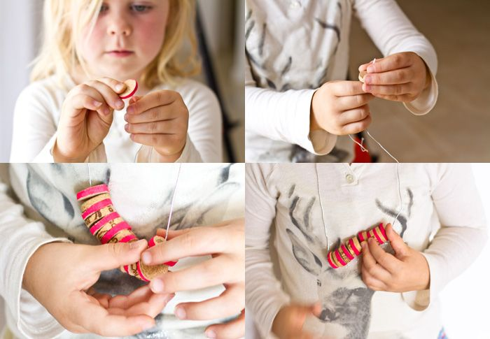 Cork Necklace project from {Bloesem kids} - I have such a collection of #bottle #corks