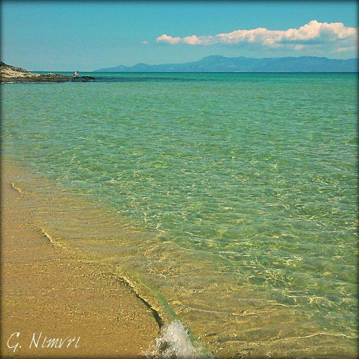 #sea #sun #beach #greece #ammolofoi