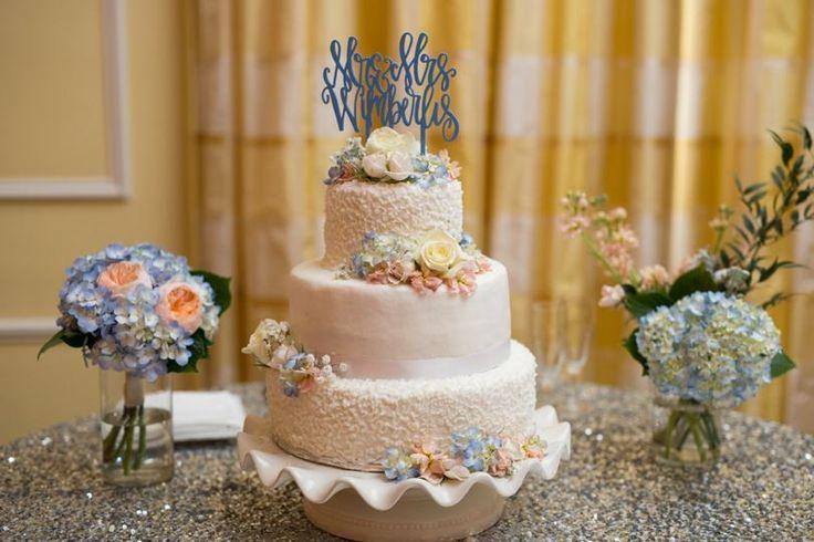 Fun custom wedding cake toppers