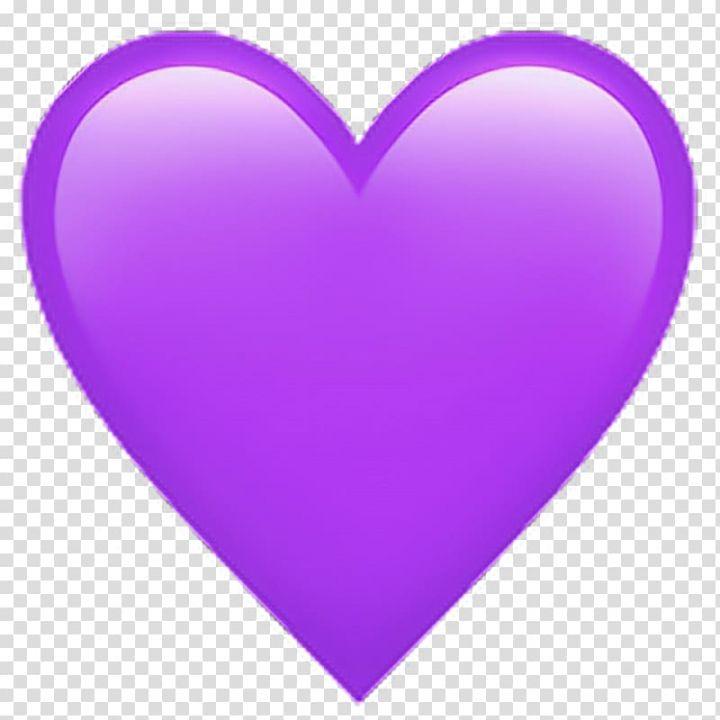 Emoji Sticker Heart Color Emoticon Facebook Icon Pink Purple Transparent Background Png Clipart Emoji Stickers Clip Art Pink Purple
