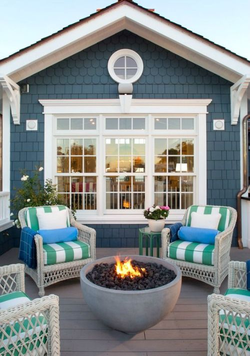 Coastal Firepits To Bring The Beach Bonfire Experiece To Your Backyard,  Patio U0026 Deck: