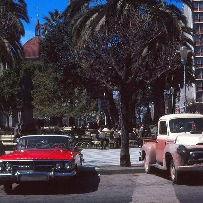 Plaza victoria 1970 Valparaiso