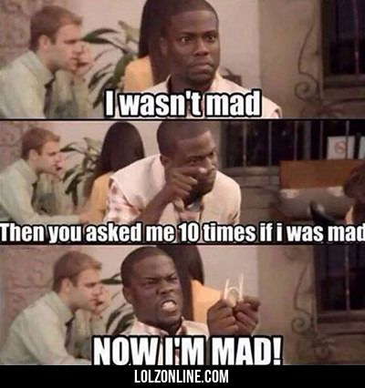 I Wasn't Mad... #lol #haha #funny